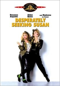 Desperately Seeking Susan DVD-Excellent condition-Madonna