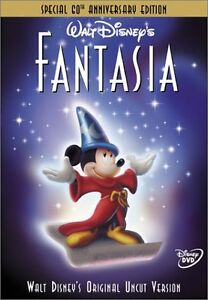 Walt Disney's 'Fantasia' DVD (Special 60th Anniv Ed) LIKE NEw