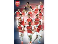 Arsenal FC Players Poster SP1279 [61cmx91.5cm]. Brand New and Sealed.