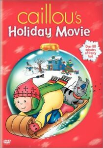 Caillou's Holiday Movie DVD-like new Christmas movie + bonus dvd