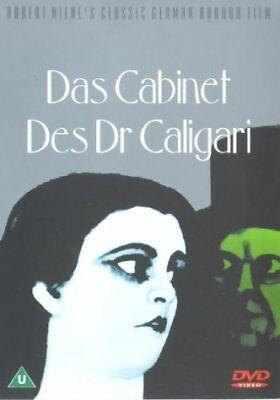Das Cabinet Des Dr Caligari [1919] [DVD]- New - Sealed - Region...