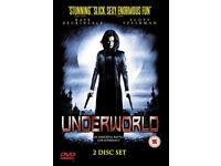 UNDERWORLD 2 DISK SET REGION 2 DVD