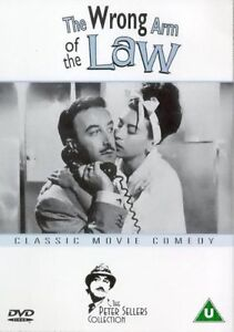 The Wrong Arm of the Law  DVD Peter Sellers, Lionel Jeffries, Bernard Cribbins,