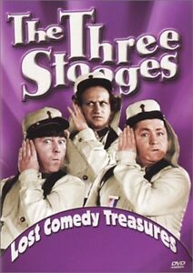 Three Stooges-Lost Comedy Treasures-Very good condition dvd