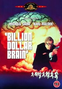 Billion Dollar Brain -DVD- -1967- NEW