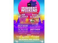 Radio 2 big weekend tickets x2 x4 x6 for sale coventry 2018 May bank holiday