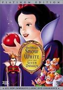 Snow White DVD New Disney