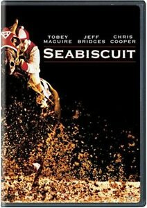 Seabiscuit DVD st. Tobey Maguire (NEW in original packaging)