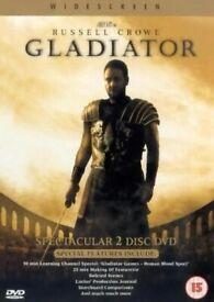 DVD: Gladiator (2 disc set)
