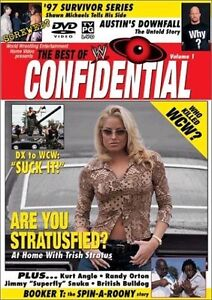WWE Confidential DVD