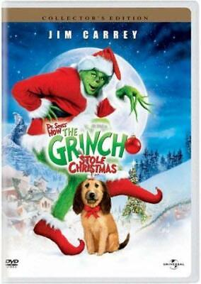 Dr. Seuss' How the Grinch Stole Christmas (Full Screen) [DVD] NEW!