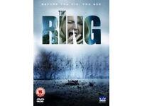 THE RING REGION 2 DVD