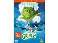 The Grinch Dvd, Christmas.