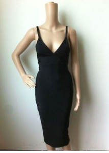 Black Sexy Herve-Leger Inspired Cocktail Dress - Super thick!