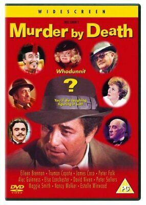 Murder By Death  with  Peter Falk New (DVD  2003)