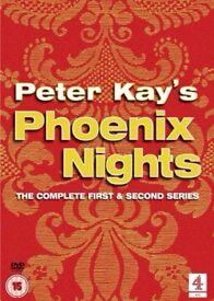 Peter Kay Phoenix Nights DVD Box set