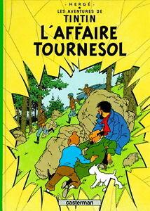 TINTIN L'AFFAIRE TOURNESOL 1984 EXCELLENT ÉTAT TAXE INCLUSE