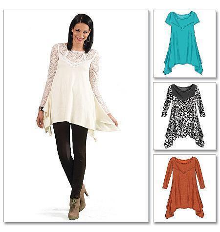 Tunic Top Sewing Pattern Ebay