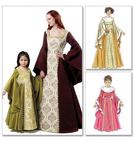 Medieval Costume Patterns Ebay