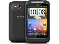 Smartphone HTC Wildfire S Locked to Three