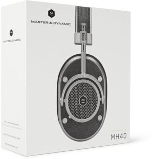 MASTER & DYNAMIC MH40 LEATHER OVER-EAR HEADPHONES Melbourne CBD Melbourne City Preview