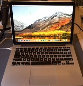 Apple Macbook Retina Pro (13 inch, late 2013) 8GB Ram, 256GB SSD