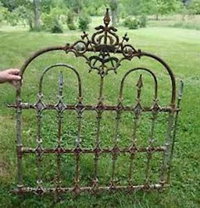 Im LOOKING for old wrought iron fencing or gates!