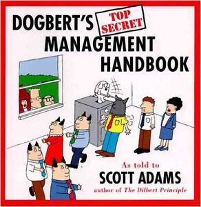 Dogbert's Top Secret Management Handbook Hardcover – Sep 26 1996
