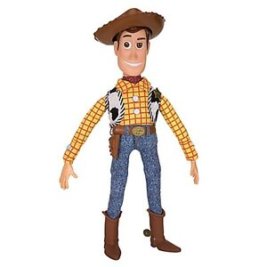 NEW Disney Store TOY STORY 3 TALKING WOODY COWBOY DOLL 16