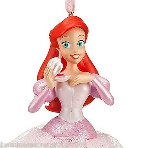 Disney little mermaid princess ariel christmas ornament for Ariel christmas decoration
