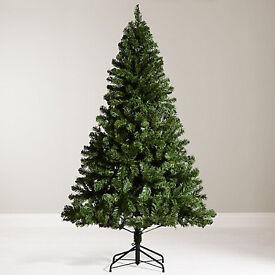 6ft John Lewis imitation Christmas Tree and decorations