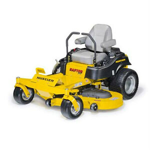 *** NEW 2015 /16 Hustler Raptor SuperDuty ZeroTurn Mower ***