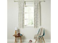 John Lewis little elephant blackout curtains - excellent condition