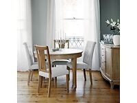 Sold-Claremont John Lewis dinning table with chairs -quick sale
