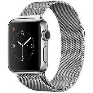 Apple 42mm Smartwatch with Silver Milanese Loop Band Oakville / Halton Region Toronto (GTA) image 1