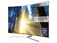 55'' SAMSUNG CURVED SMART 4K HDR QUANTUM DOT TEC DISPLAY.UE55KS9000. FREE DELIVERY/SETUP