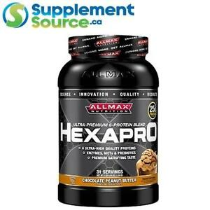 Allmax HEXAPRO, 3lb - Chocolate Peanut Butter