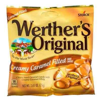 Werther's Original Creamy Caramel Filled Hard Candy (Overstock Sale) *3 x bags*](Bulk Candy Sales)