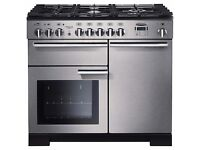 RANGEMASTER Professional Deluxe Freestanding Dual Fuel Range Cooker like new - used for 6 months