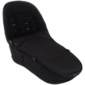 Used - iCandy Peach Luxury Footmuff, Black Magic 2 - RRP £85 new