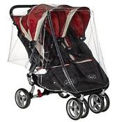 Baby Jogger City Mini Double Raincover