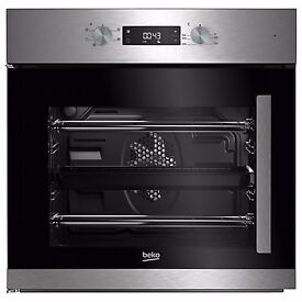 NEW - Beko BIF22300XL Built In Electric Single Oven, Stainless Steel - BARGAIN PRICE @ £140