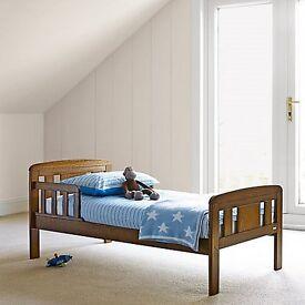 John Lewis Boris Toddler Bed Plus John Lewis Spring Mattress : Never Used, must sell!