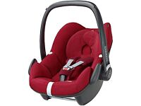 Maxi cosy familyfix isofix base & pebble car seat!