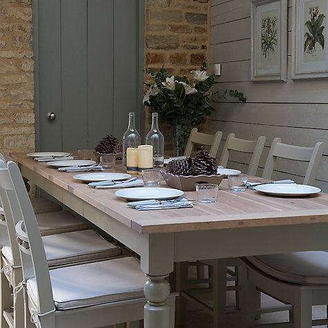 John Lewis Neptune Suffolk 6 10 Seater Seasoned Oak Extending Dining Table Honed Slate RRP