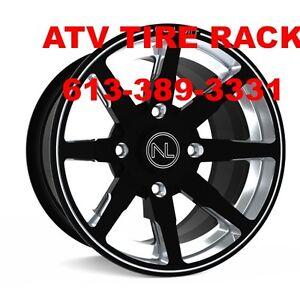 NO LIMIT Octane rims wheels ANY CUSTOM COLORS - ATV TIRE RACK Kingston Kingston Area image 4