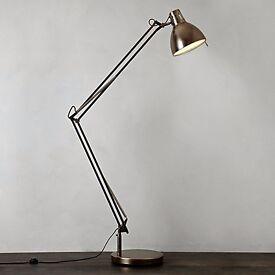 John Lewis Contemporary Chrome Floor Lamp