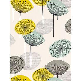 Sanderson Dandelion Chaffinch John Lewis roller blinds x 3