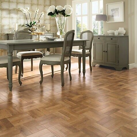 Karndean Flooring Luxury Vinyl Tile Parquet Blond Oak New 17