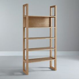 john lewis logan bookcase brand new assembled rrp £199